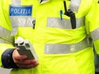 Vişeu de Sus - A condus băut şi a lovit maşina poliţiei