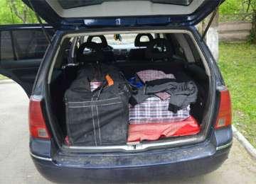 Vişeu de Sus - Două autovehicule indisponibilizate şi peste 2000 de pachete de ţigări confiscate