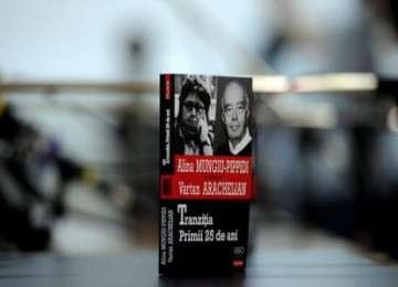 """Volumul """"Tranziția. Primii 25 de ani"""", de Alina Mungiu-Pippidi și Vartan Arachelian, lansat în prezența noului Președinte Klaus Iohannis"""