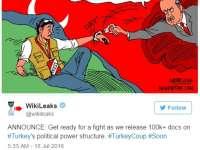 WikiLeaks pregătește publicarea a peste 100.000 de documente despre structura de putere din Turcia