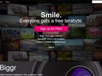 Yahoo! - Relansarea imagini site-ului de fotografii Flickr