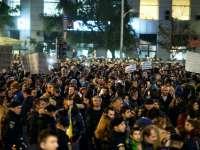 """Zeci de mii de persoane cer în stradă demisii în lanț, ca urmare a incendiului din clubul """"Colectiv"""""""