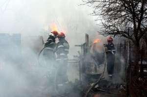 Zi de FOC astazi in Maramures. Pompierii au intervenit in lichidarea a cinci incendii