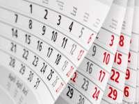 Zile LIBERE în 2015. Câte dintre sărbătorile legale sunt în timpul săptămânii?