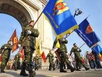 Ziua Armatei României, marcată în țară prin ceremonii militare și religioase