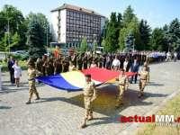 Ziua Drapelului Național, marcată în Maramureș