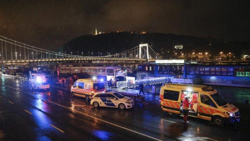 Un vapor de croazieră plin cu turişti s-a scufundat în Dunăre, la Budapesta. Şapte morţi, 19 dispăruţi