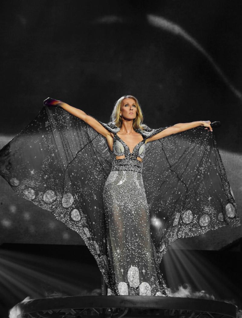 Celine Dion concertează în România, pentru prima dată