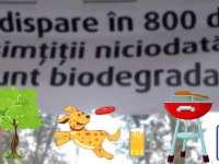 Mesaj direct pentru cocalarii care aruncă gunoiul pe unde apucă după ce au fost la iarbă verde