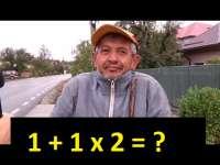 """VIDEO: """"Cât fac 1 + 1 x 2?"""" - Întrebarea care le-a dat mari bătăi de cap românilor"""