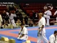 """VIDEO - """"Dorel"""" s-a antrenat la Karate"""